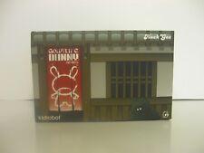Kidrobot HUCK GEE Gold Life KABUKI & KITSUNE Black Dunny KR Sealed Unopened Duo