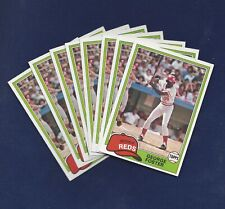 LOT OF EIGHT 1981 TOPPS #200 GEORGE FOSTER PACK FRESH SHARP CARDS .99 SHIPPING