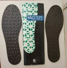 NIKKEN Magsteps Magnetic Insoles Size LARGE Man (L) NEW~