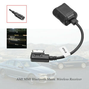 Car ABS Bluetooth Music Wireless Module Radio Stereo AUX Cable Adapter Durable