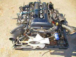 NISSAN SR20DET S13 BLACKTOP ENGINE MT TRANSMISSION *GT28 TURBO* 240SX SWAP SR20