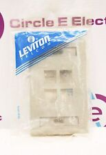 Leviton 42080-4Gs Data Cover *New in Sealed Package* 420804Gs Gray