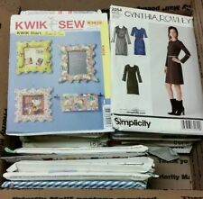 Vintage - Now Simplicity Sewing Patterns Lot of 38 Women's UNCUT / CUT