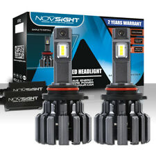 NOVSIGHT 9006 HB4 80W 15000LM 6000K White Auto Car LED Headlight Light Bulbs Kit