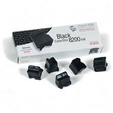 NEW 5Pk Genuine Xerox Phaser 8200 printer ColorStix Black Ink 016-2040-00