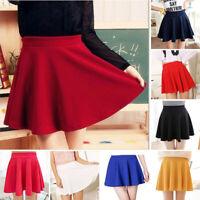 Women Tennis Pleated Mini Skirt School Girl Skater Skirts Shorts Nightwear