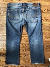 Diesel Zatiny Denim Jeans - 36 X 30 - Bootcut, Wash 0880N, Button Fly, Italy