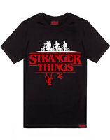 Stranger Things T-Shirt Men Women Unisex Upside Down Black Top