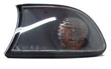 Para BMW Serie 3 E46 Compact 01-05 Delante Transparente Negro Indicador Detector