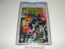 Alpha Flight #93 Comic CGC 9.4 Marvel 1991 Fantastic Four Fabian Nicieza Guice