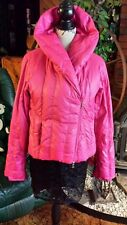GUESS ~ Women's Fuchsia Pink ~ Down Feather Winter Puff Jacket ~ Size Medium