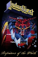 """JUDAS PRIEST - """"DEFENDERS OF THE FAITH"""" - LARGE SIZE TEXTILE POSTER/FLAG"""
