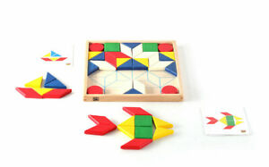 Mosaic Shapes  Kids Childrens Creative Puzzles