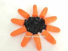 100pcs Keratin Glue Nail Tip for I Tip Fusion Hair Extensions + Finger Protector