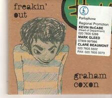 (GC398) Graham Coxon, Freakin' Out - 2004 DJ CD