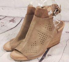 NEW - Miz Mooz Leather Ankle Strap Sandals - Kensley - Metallic Brown - EU 39