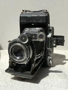 Moskva Rangefinder Medium Format Folding Camera 6x9 - Industar 11cm f4.5 Lens