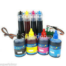 Continuous Ink Supply System and Refill Ink Set - Epson WF-7710 WF-7720 WF-7210