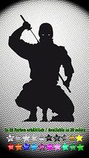 Ninja Shinobi Sticker Aufkleber JDM Styling Japan Anime Manga 8cm x 13cm