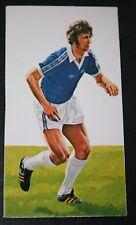 Everton  Rioch    1970's Colour Footballer Card