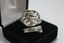 New listing Sterling, Silver, Spoon Ring, Jewelry, Wallace, sz 10 (bin #126)