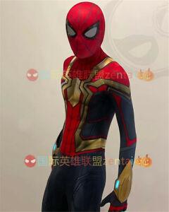 Spider-man No Way Home Jumpsuit Spiderman Cosplay Costume Adult Kids Halloween