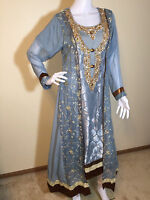 Party Salwar Kameez Pakistani Indian Wear Suit Designer Shalwar Ethnic Dress M