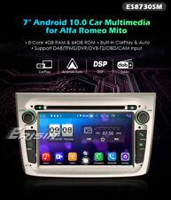 ERISIN ES8730SM AUTORADIO GPS ALFA ROMEO MITO Android 10 WIFI 4G USB CARPLAY DSP