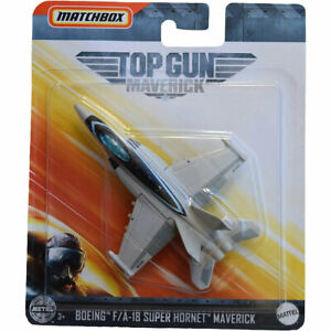 Matchbox Skybusters Planes Top Gun: Maverick BOEING F/A-18 SUPER HORNET MAVERICK
