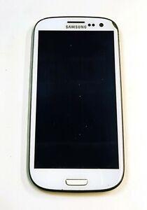 Schermo display LCD con touch screen Samsung Galaxy S3 i9300 bianco completo 2