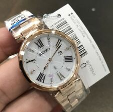 Seiko LUKIA Solar Ladies Watch SUT334J1