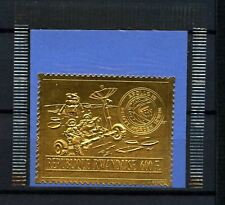 Rwanda 1972 SG#442, 600f Moon Mission Of Apollo 15, Gold Stamp MNH Cat£95#D58776