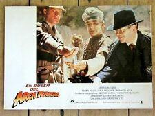 RAIDERS OF THE LOST ARK Original GERMAN NAZI GESTAPO Lobby Card STEVEN SPIELBERG