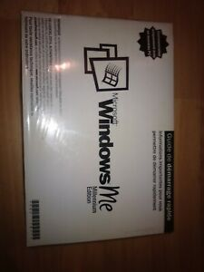 MICROSOFT WINDOWS ME MILLENNIUM  FRENCH FULL OPERATING SYSTEM NEW -FR-