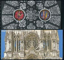 FRANCE 2011 800th ANN REIMS CATHEDRAL/ART/STAINED GLASS/SAINT/CHURCH/ s/s folder