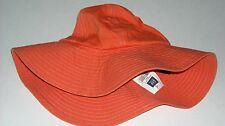 Gap Denim Orange Sun Hat Sun Protection Sz M (7/8)