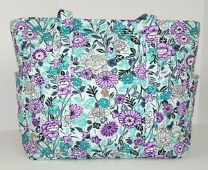 Vera Bradley Get Going Tote Penelope's Garden Large Bag Travel