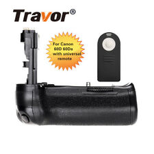 Travor Pro Vertical Holder Battery Grip For Canon EOS 60D 60Da DSLR BG-E9 BGE9