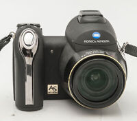 Konica Minolta Dimage Z6 Digitalkamera Bridgekamera schwarz