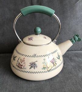 Walt Disney World At Home Collection Winnie The Pooh Tea Pot Kettle Enamel