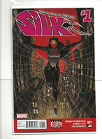 Silk #1 Marvel Comics 1st Print 2015 Cindy Moon Solo Issue Spider-Verse FN/VF