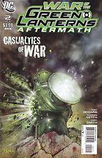 WAR OF THE GREEN LANTERNS AFTERMATH #1 & 2 / 2011 / BEDARD / SEPULVEDA / KIRKHAM