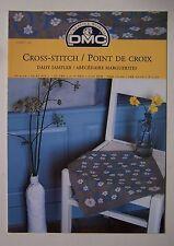 § DMC grille point de croix cross stitch 12867-22 - ABECEDAIRE MARGUERITES
