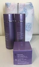 NUTRIMETICS RESTORE ANTI-AGING SKINCARE SET Foaming Cleanser FREE BAG New-Save $