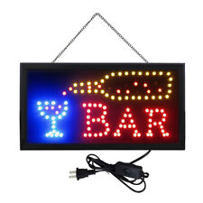 Ultra Bright Business Sign Animated Motion Led Neon Light Shop Cafe Bar Pub