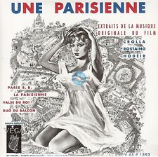 """BRIGITTE BARDOT une parisienne 45T 7"""" EP REISSUE 2010 neuf CHRISTIANE LEGRAND"""