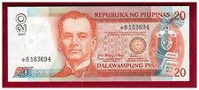 2007 PHILIPPINES 20 Peso, NDS ( New Design) Arroyo & Tetangco, Star Note.  UNC.