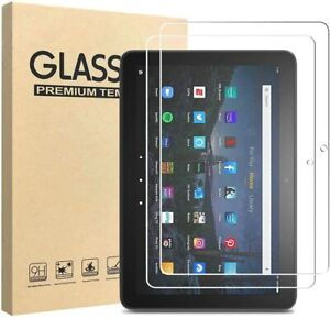2X For Amazon Fire HD 10 / Fire HD 10 Plus 2021 Tempered Glass Screen Cover
