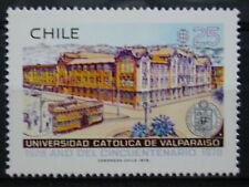 CHILI '1978 ** MNH 498 YT 2,75 EUR TRANSPORTS,TRAM,UNIVERSITE VALPARAISO