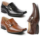 Majestic Men's Buckle Strap Slip On Loafers Dress Classic MJ88206